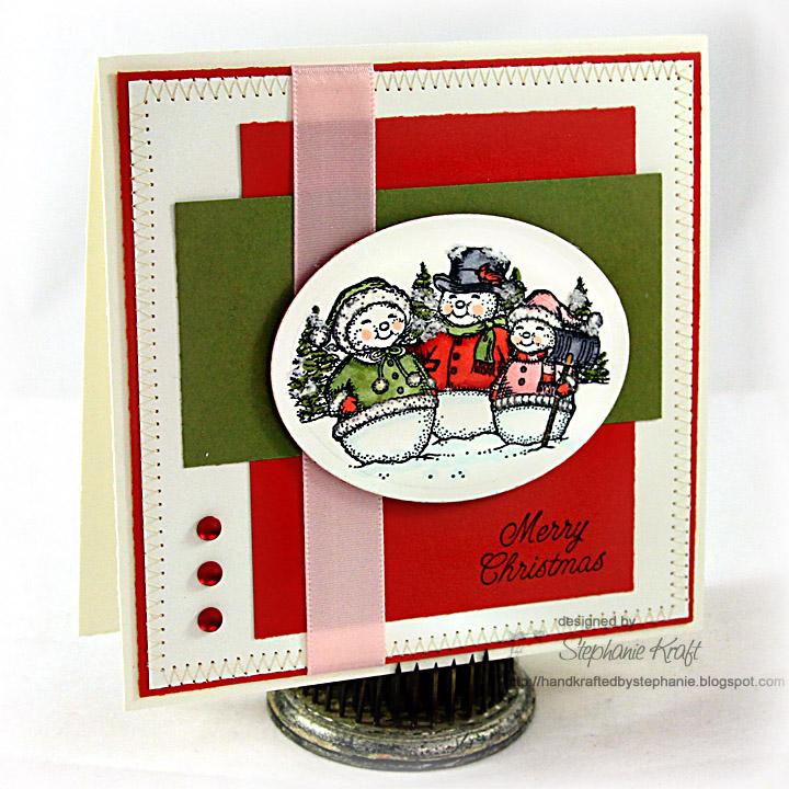 Handkrafted By Stephanie Justrite 12 Weeks Of Christmas Blog Hop 7