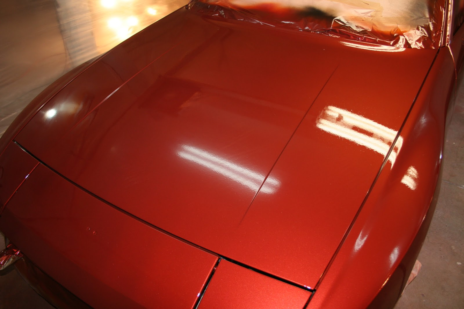 How to spray clear coat without orange peel - If You Zoom In On This Picture You Can Really See The Orange Peel That Keeps This Paint From Being Perfectly Mirror Like