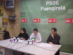 Rueda de prensa en Fuengirola