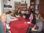 Visita a la AAMM del PSOE Arriate