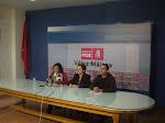 Rueda de prensa en Vélez