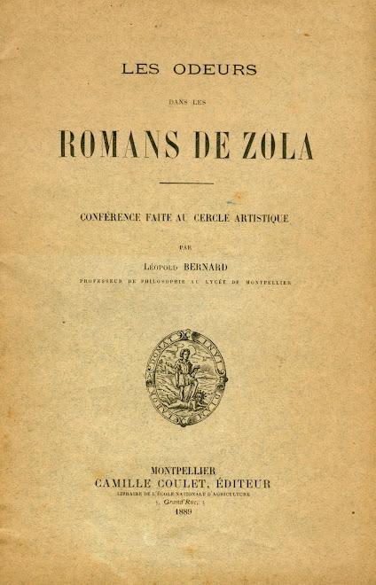 Les ODEURS dans les ROMANS de ZOLA