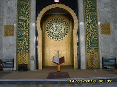 desain ruang imam masjid - rumah joglo limasan work