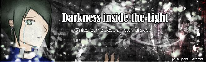 Darkness inside the Light