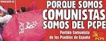 ¡Organízate y lucha con el Partido Comunista!