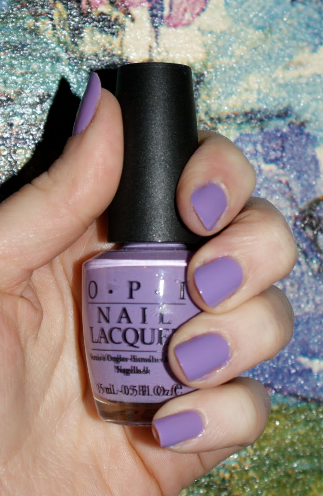  Lilac nail polish   New 2012 Nail art models