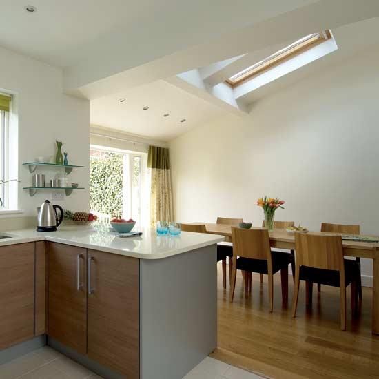 Minimalist Architecture And Home Interior Airy Kitchen diner