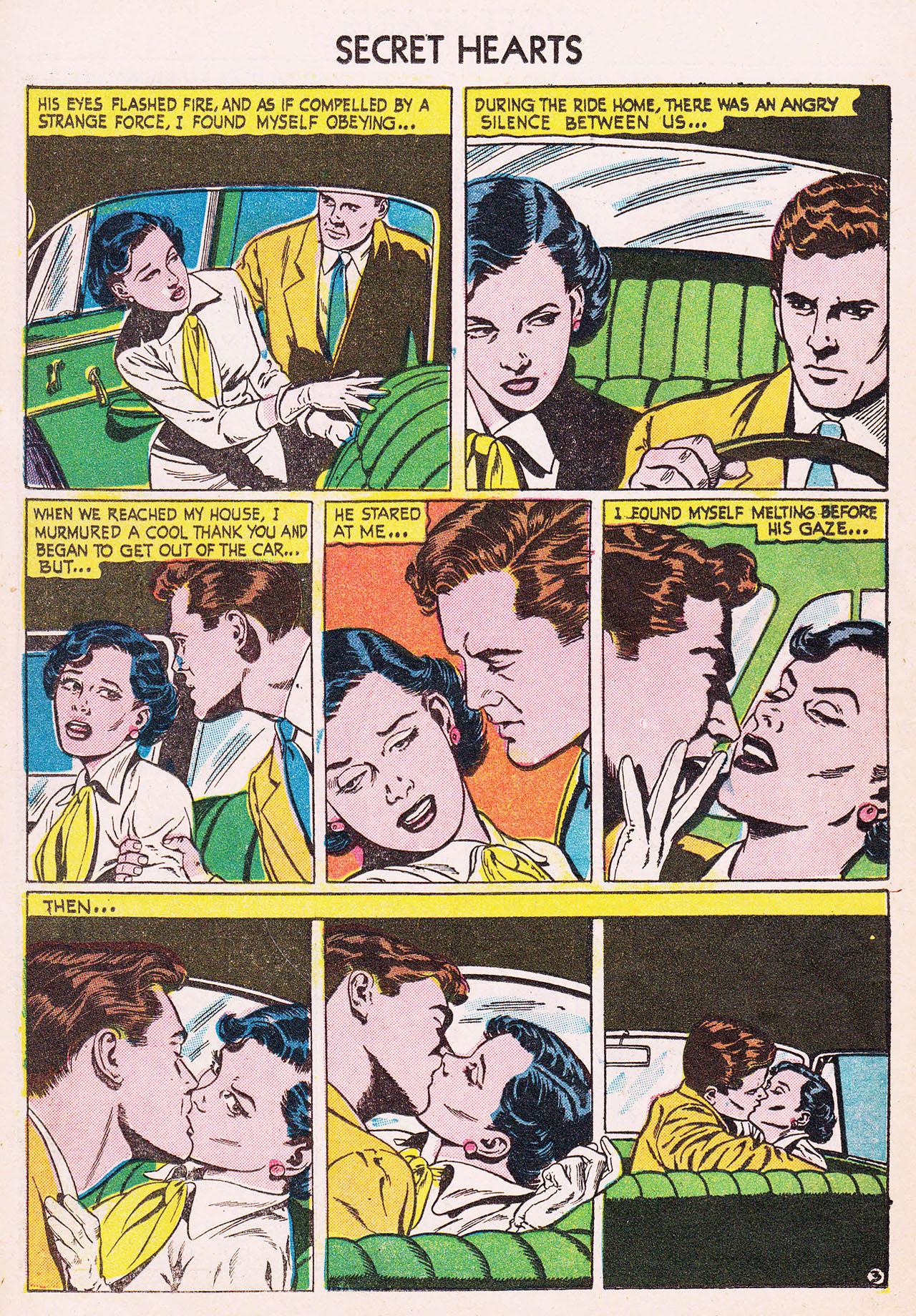 Read online Secret Hearts comic -  Issue #24 - 14