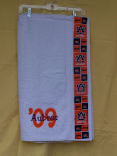 Auburn Towel Cover-up