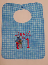 Sesame Street Trio on Bib