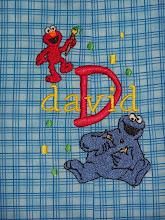 Sesame Street Monogram design