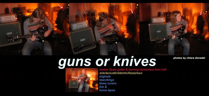 guns or knives