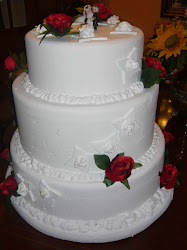 Tarta de boda, ficticio