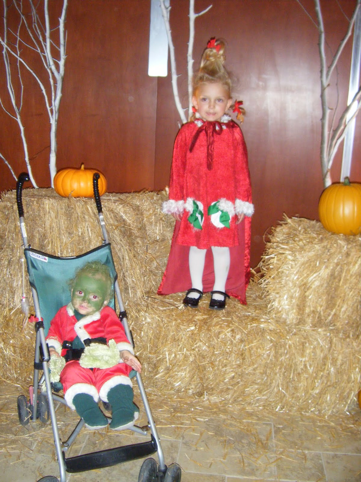 The eddy family whoville s cindy lou who and baby grinch