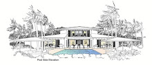Island House Plan 6