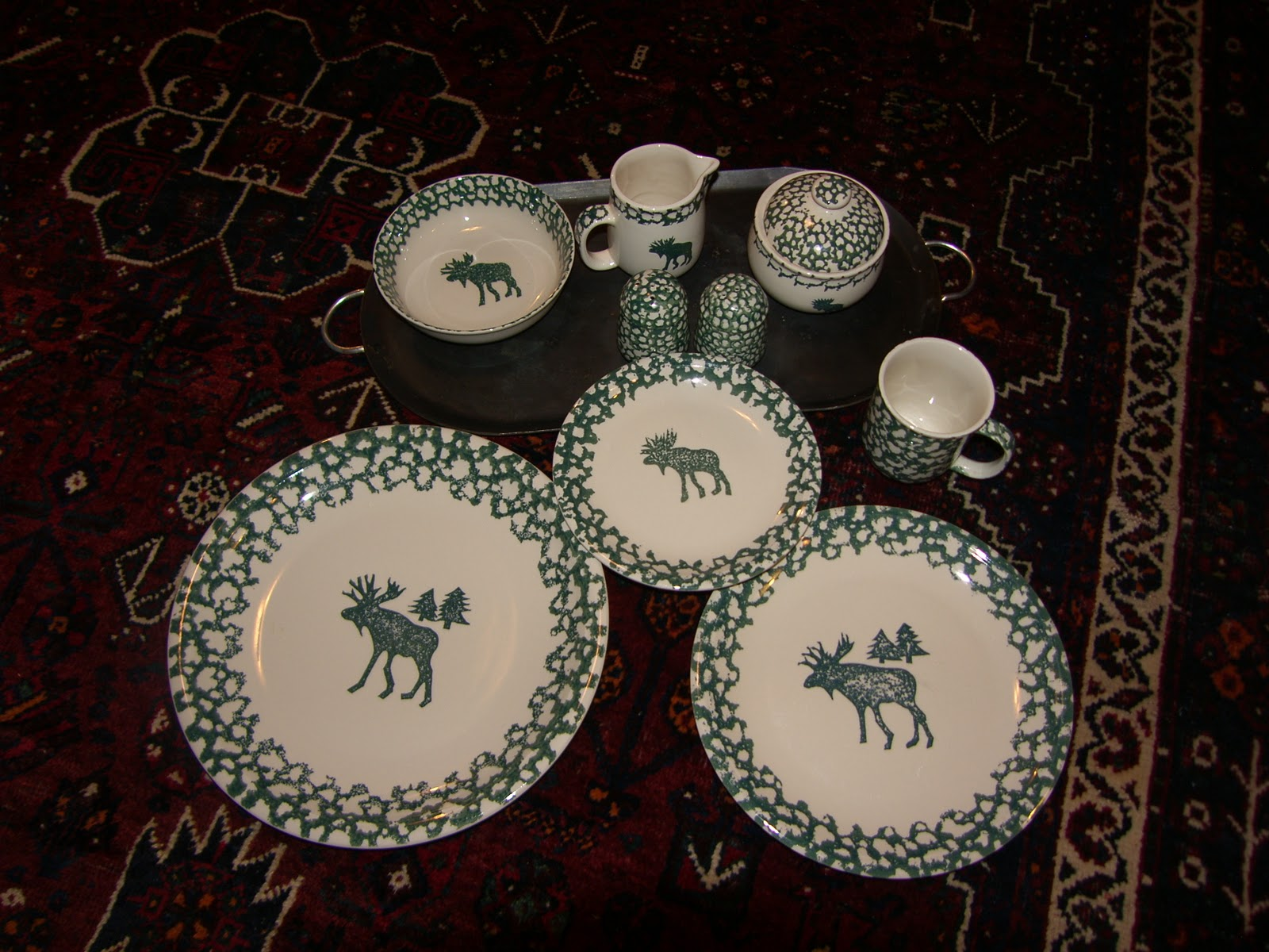 Big Miow S Little Shop Tienshan Moose Dishes Sold