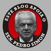 APOIO AO SEN. PEDRO SIMON