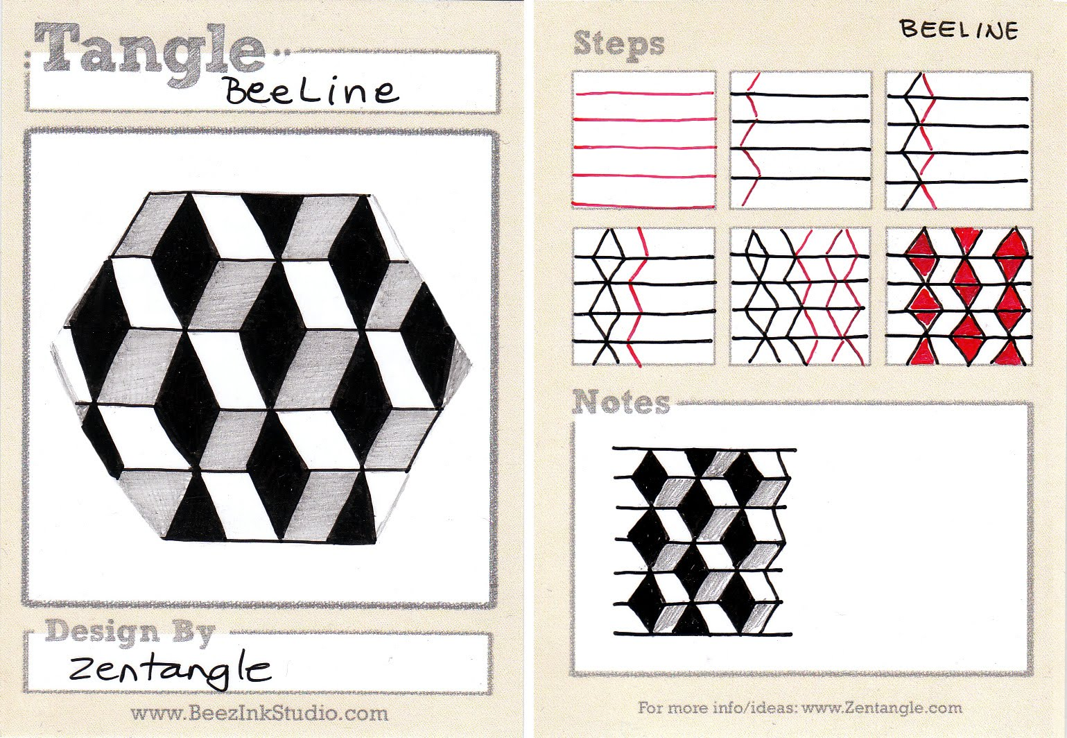 Official Zentangle Patterns Custom Decoration