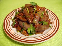 Guntur Vankaya in Thai Flavor..