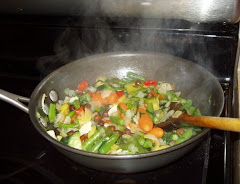 Frozen Fresh Vegetables Stir Fry.