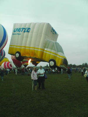 Truck shaped Hot Air Balloon United