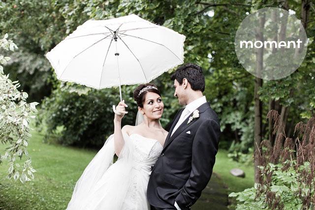 regn på bryllupsdagen