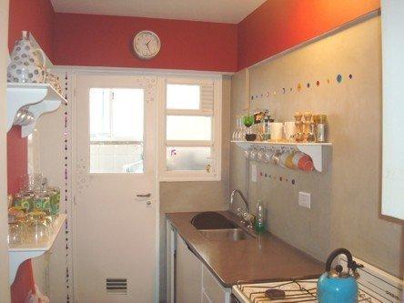 Microcemento aj cocina antigua reciclada - Microcemento sobre azulejos ...