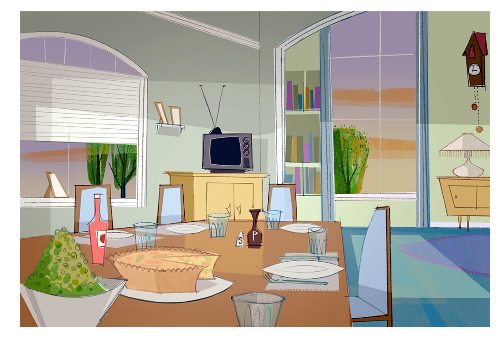 Mike Zarb Production Design 2 D Animation