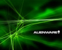 Green AlienWare Wallpaper