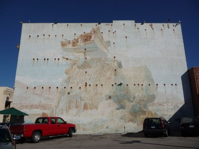 Experiencing los angeles faded glory isle of california for California mural