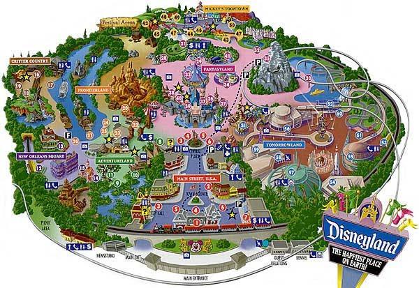 disneyland california map 2010. march Disneyland+map+2010