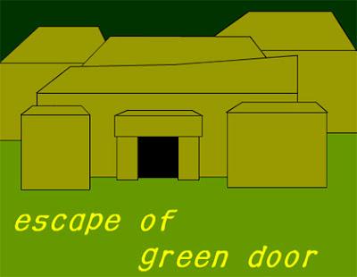 Juegos de Escape Escape of Green Door Solucion