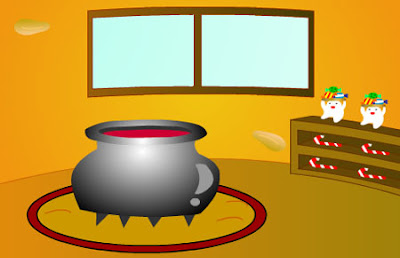 jugar juegos de escape D's Halloween 2008 solucion y guia