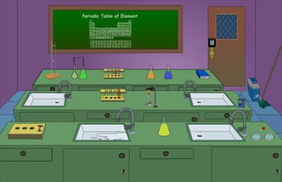 jugar juegos de escape Chemistry Lab Escape solucion y guia