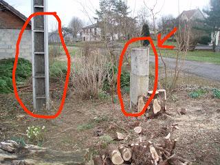 Ledoubsjardindanabel - Poteau electrique dans mon jardin ...