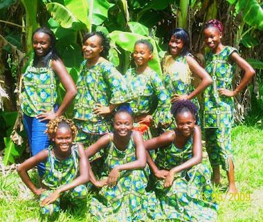 Formation des fauvettes Couture ( Franceville, province du Haut-Ogoue)