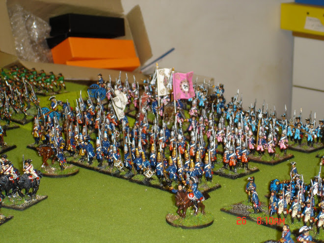 PRUSSIAN SYW GRENADIERS, FUSILIERS AND FREIKORPS ADVANCE