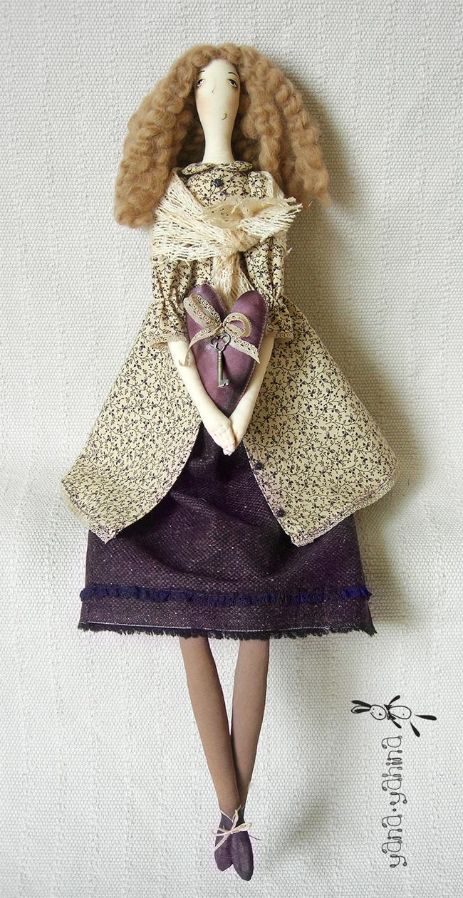 Тряпичная кукла мальчик своими руками