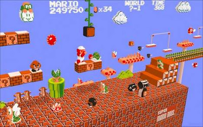 3D  Retro Gamer Art Seen On www.coolpicturegallery.us