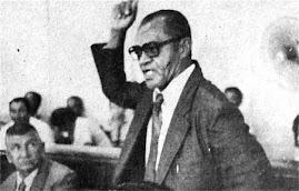 João Bento, discursando na CMPV