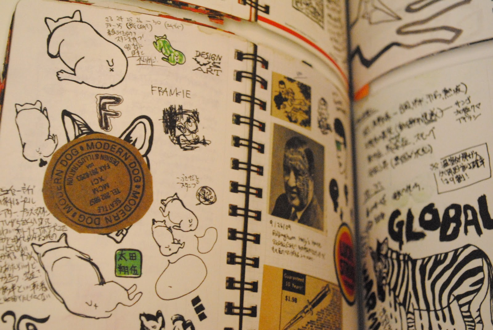 emilythepemily graphic inside the sketchbooks of the