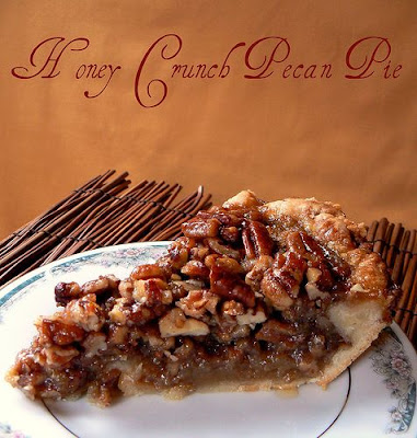 MIH Product Reviews & Giveaways: Honey Crunch Pecan Pie