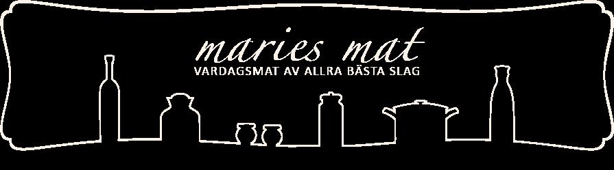 Maries mat