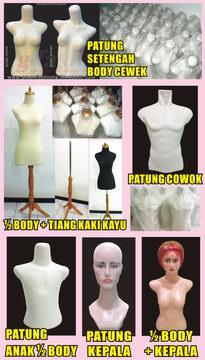 Jual Mannequin - Patung Baju - Fashion Display