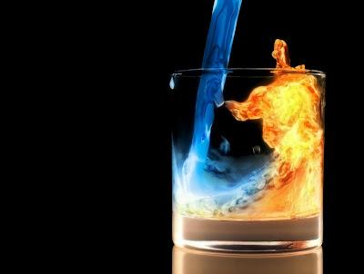 fire margarita drink vs ice margarita drink high resolution wallpapers