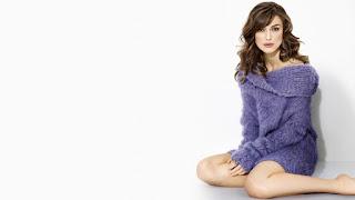 Keira Knightley Purple Short Dress Girl Legs HD Wallpaper