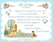 Dia del Niño: Regalos y mas. No te pierdas los regalos que podes . dia del niã±o blog fbk