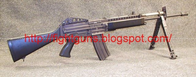 Guns fight guns war guns stoner 63 weapon system rifle and 556mm stoner 63a rifle with detachable bipod altavistaventures Choice Image