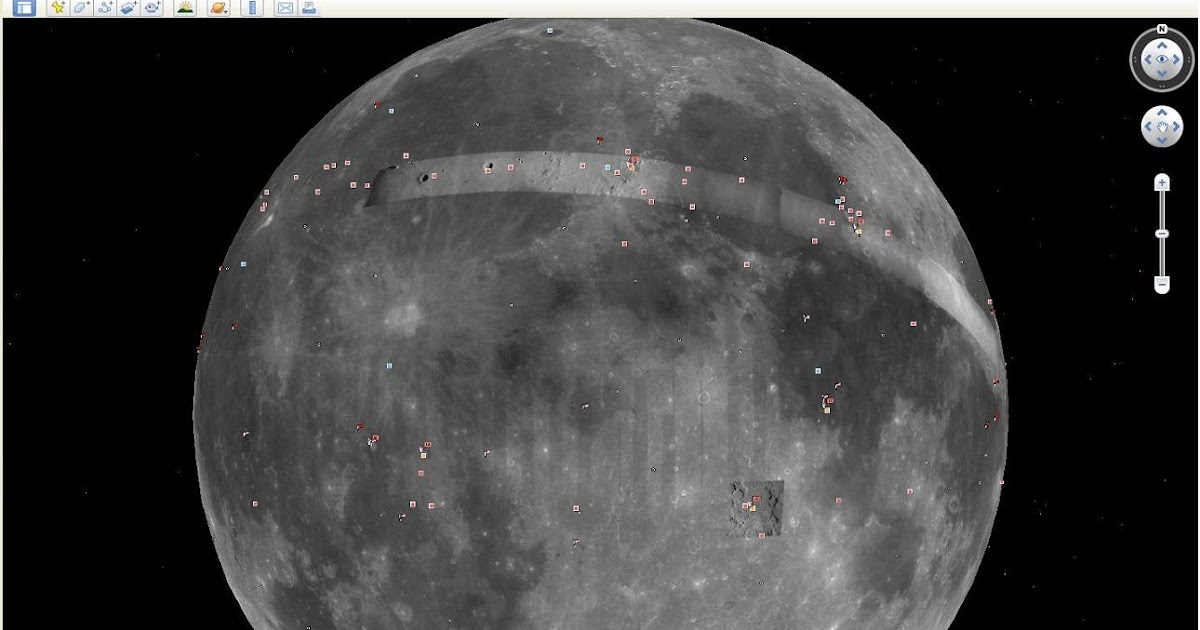 No Google Moon Doesn t Show an Alien Loitering on the Moon