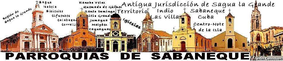 PARROQUIAS DE SABANEQUE